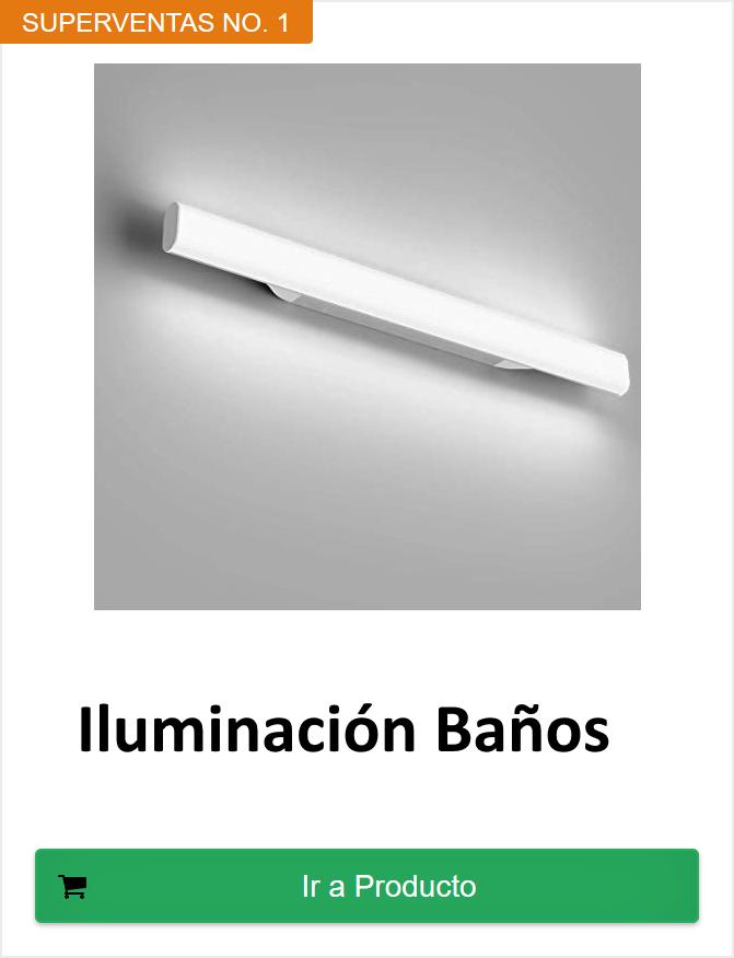 iluminacion baño