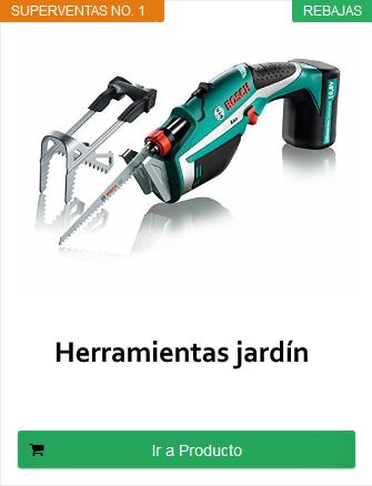 herramientas terraza