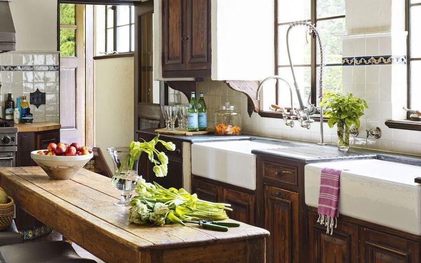 cocina-antigua-de-lena-ideas-para-decorar-en-la-cocina