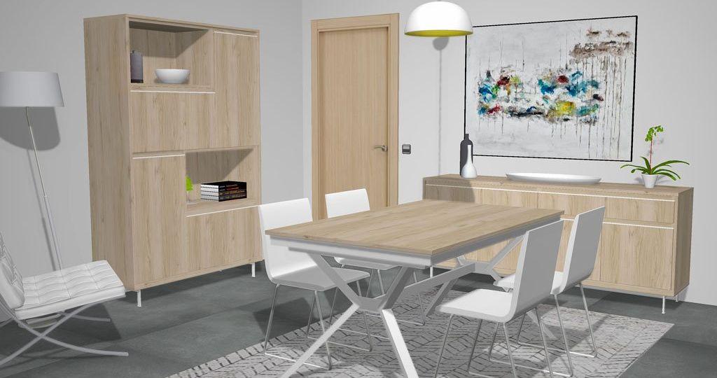 mesa-salon-cristal-extensible-ideas-para-instalar-la-mesa