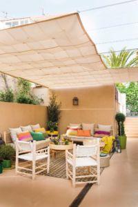 Materiales para Construir Una Pérgola de Aluminio y Lona: Trucos para montar en la terraza